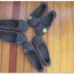 Slippers from above