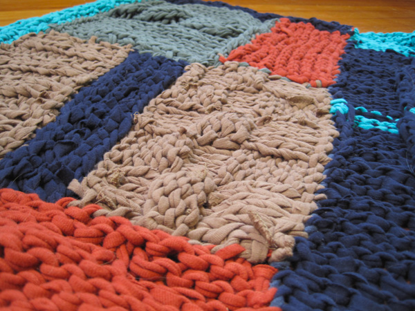 Knit T Shirt Rug The Cottage Revolution