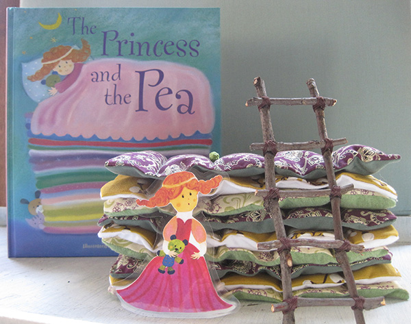 the princess & the pea (2)